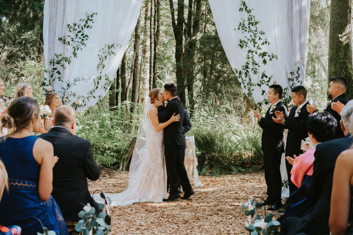Twin Willow Gardens wedding venue snohomish washington